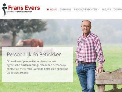 Bedrijfswebsite Frans Evers