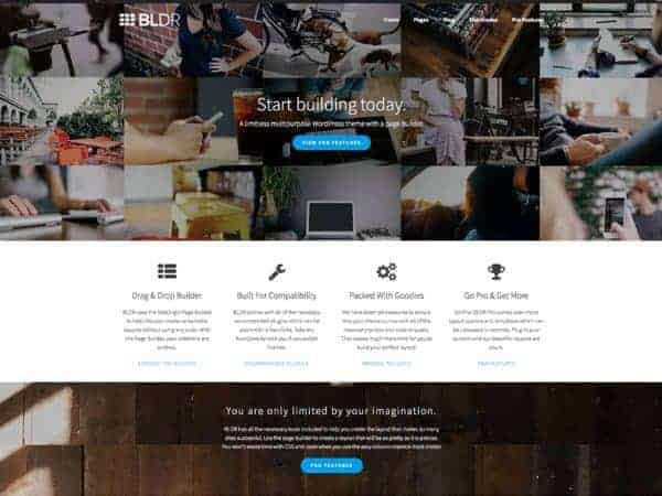 BLDR multi-purpose theme