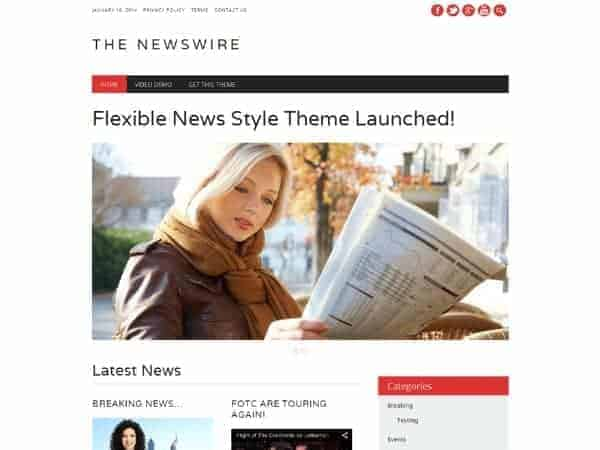 The Newswire magazine theme