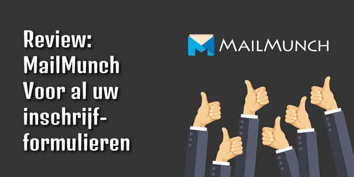 MailMunch inschrijfformulieren