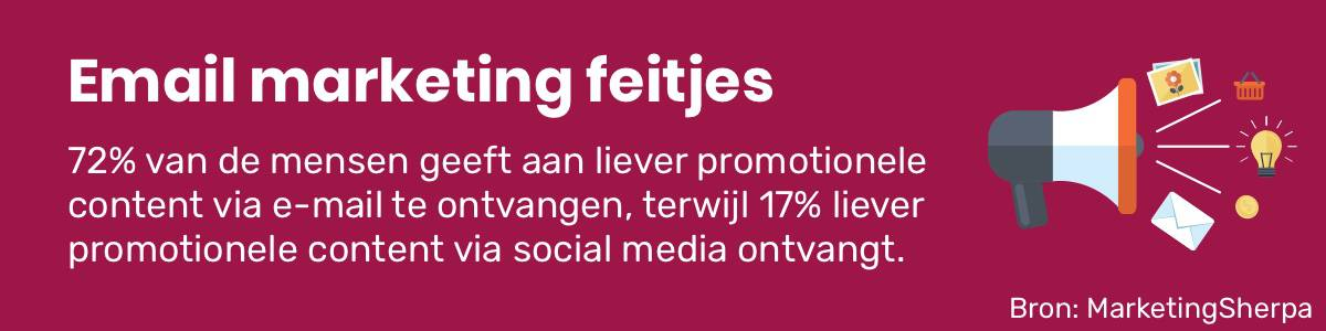 Email marketing feitjes