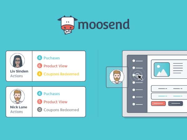 Moosend Website connector